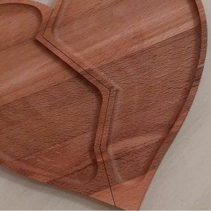 اردو خوری بامبو مدل قلبی شکسته