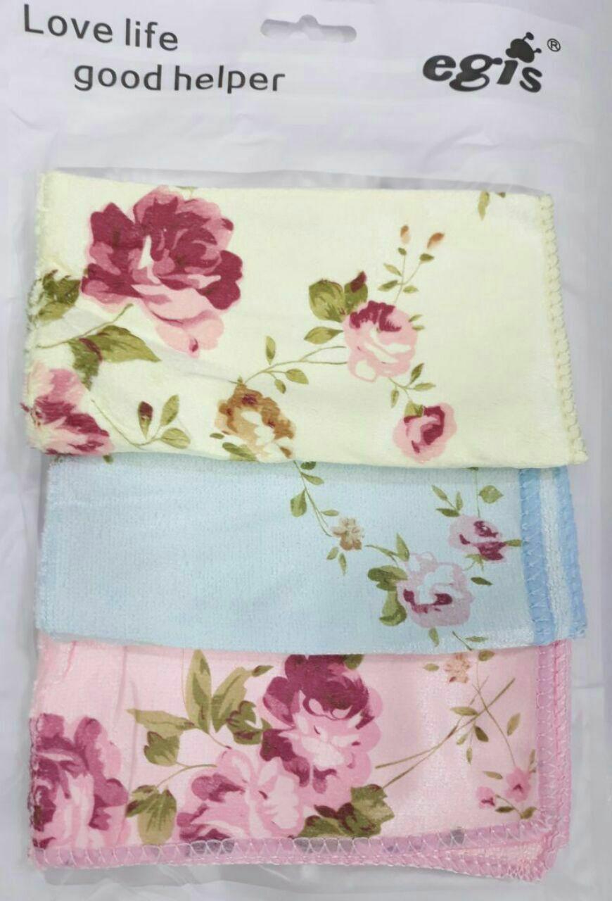 دستمال 4 تایی گلدار