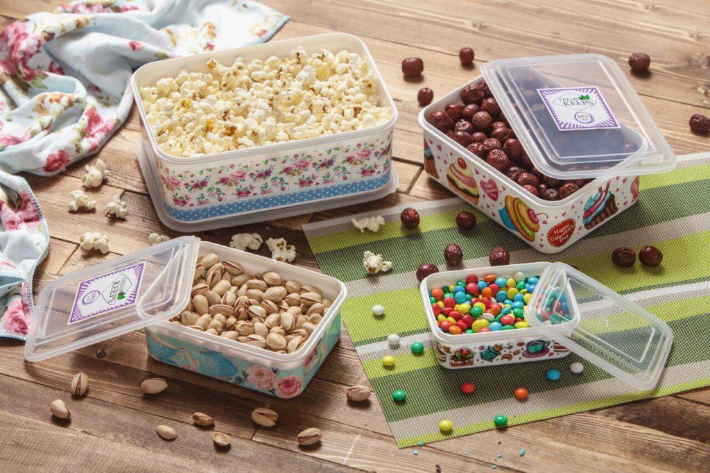 ظروف پلاستیکی بسته بندی مواد غذایی