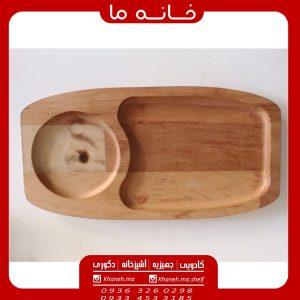 ظروف اردو خوری بامبو سرو 2 عددی
