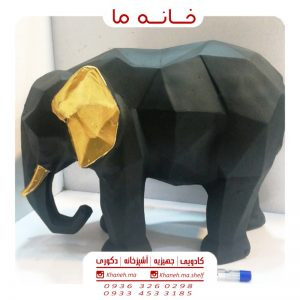 مجسمه دکوری طرح فیل