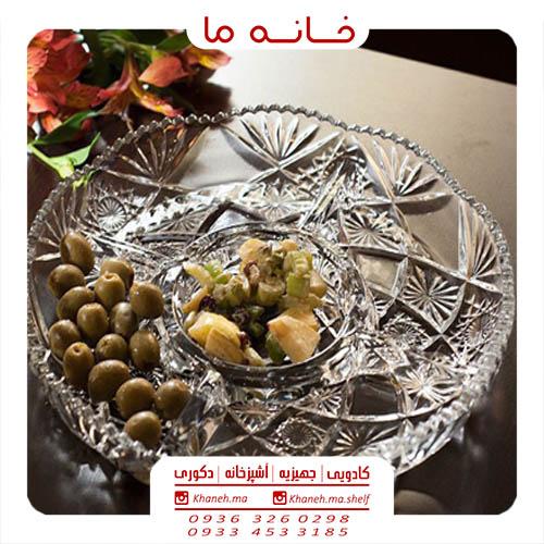 • ظروف اردو خوری شیشه ای