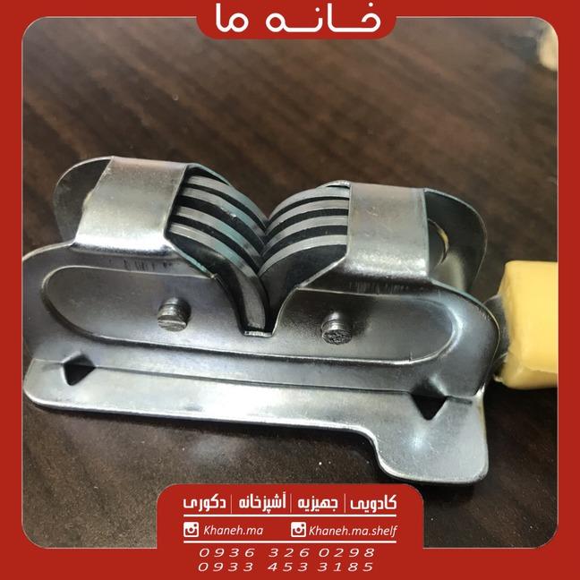 چاقو تیزکن استیل دسته دار