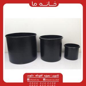 گلدان سطلی فلزی مدل سام
