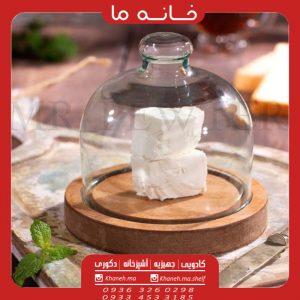 کره و پنیر خوری چوبی