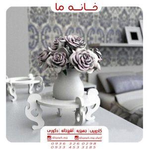شلف گلدان سایز کوچک طرح گوچی