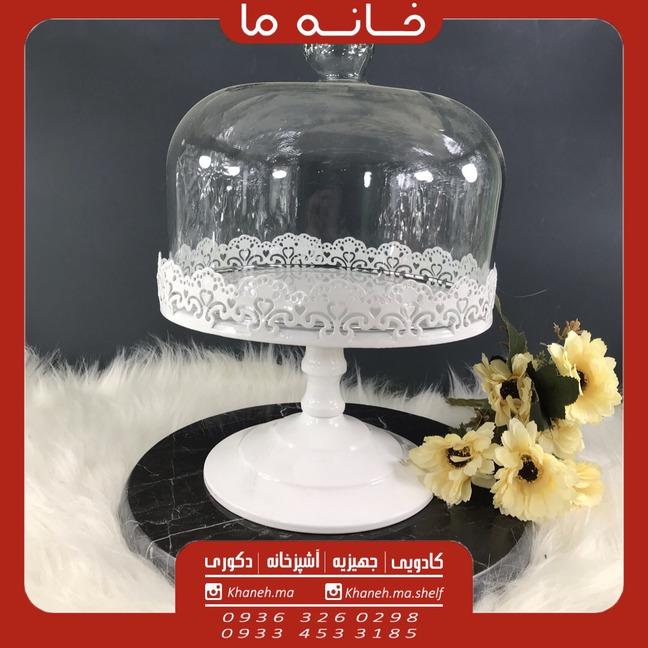 کیک خوری پایه بلند مدل پرسین