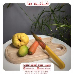 ظروف اردوخوری بامبو مدل تخته بیضی