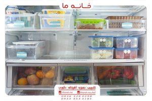 نظافت و نظم دهنده یخچال