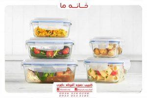 ظروف پلاستیکی نگهدارنده غذا