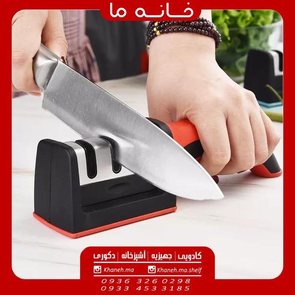 چاقو تیزکن 3 تیغه مدل d25