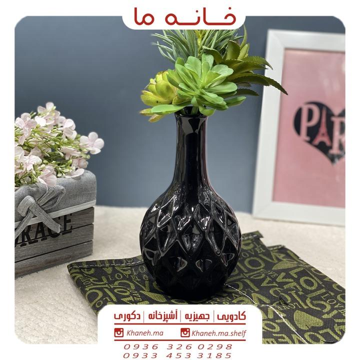 گلدان سرامیکی لوزی مدل t56